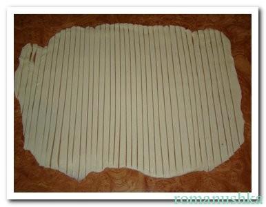 полоски из слоеного тесто