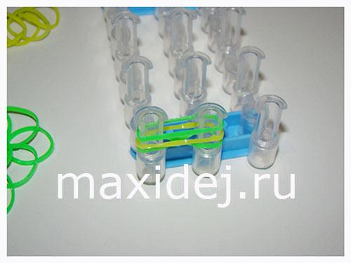 плетение из силиконовых резинок