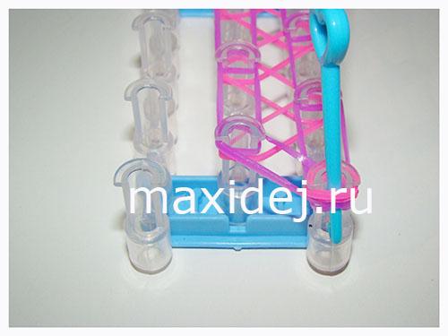 плетение браслета шнурок пошагово с фото