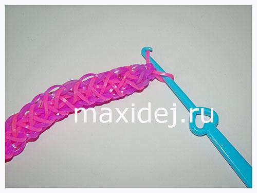 браслет из резиночек