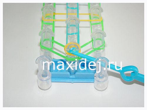 плетение из резинок лестница