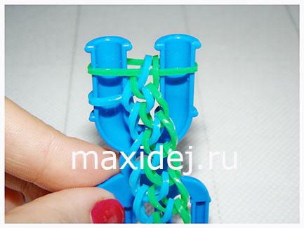 браслет из резинок чешуя дракона схема