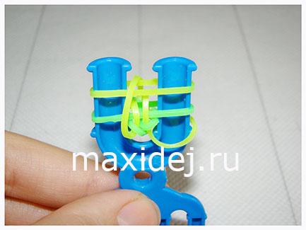 браслеты из резинок схемы