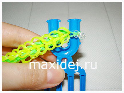 плетение браслетов на рогатке
