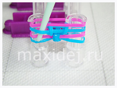 как сделать браслеты из резиночек