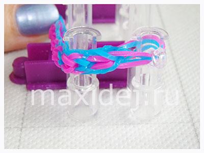 как делать браслет бантик
