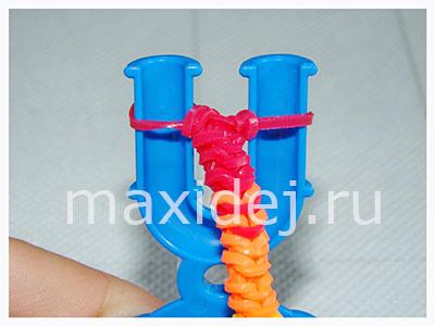 плетение из резинок схемы