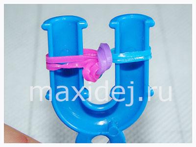 браслеты из резиночек схемы