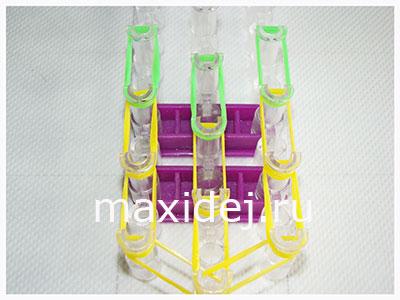 схема плетения мороженого из резинок