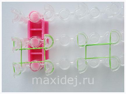 плетение браслетов на станочке