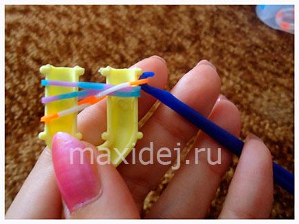 плетение из резиночек