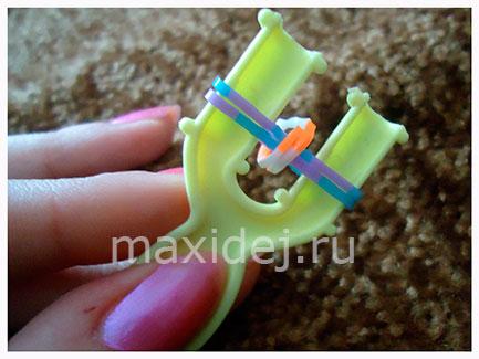 как делать браслеты из резинок