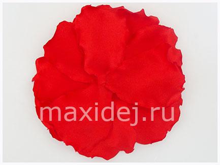 цветы из ткани маки