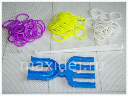 материалы для плетения браслета