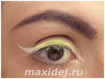макияж глаз поэтапно