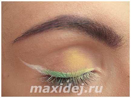 легкий макияж глаз
