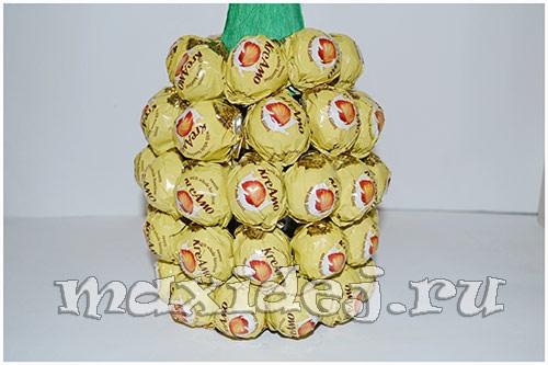 шампанское в виде ананаса