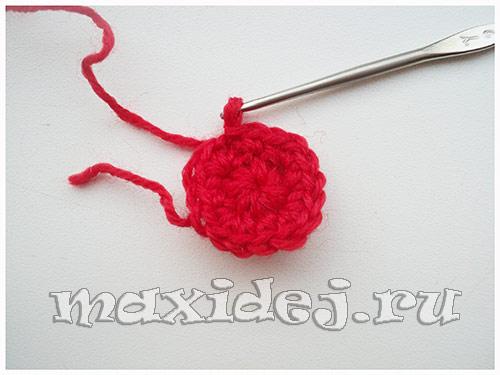 вязаные валентинки крючком схемы и описание