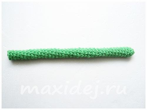 вязание крючком гвоздика схема