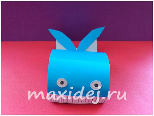 как сделать кита из бумаги своими руками