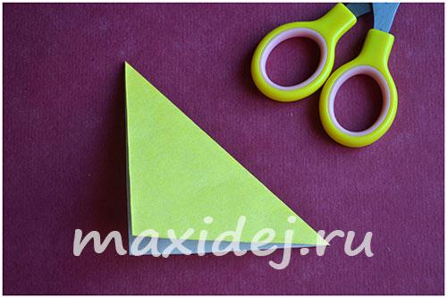 оригами из бумаги собака кусака