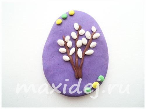 пасхальное яйцо своими руками из пластилина